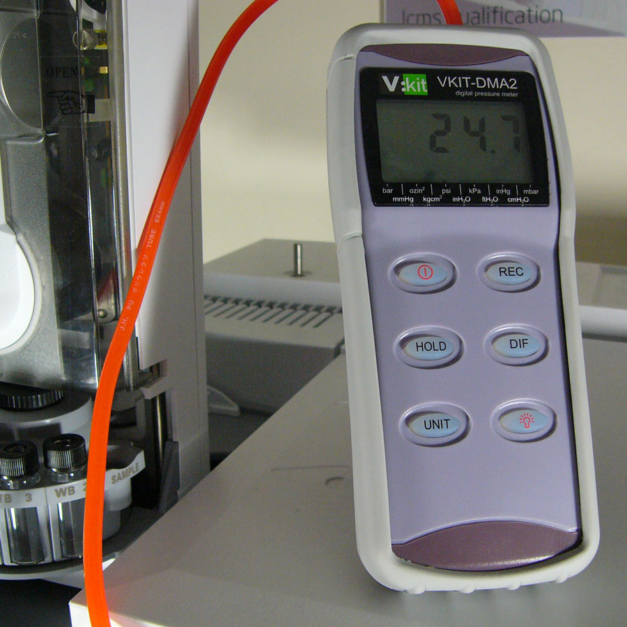 VKIT-DMA2 pressure meter for GC