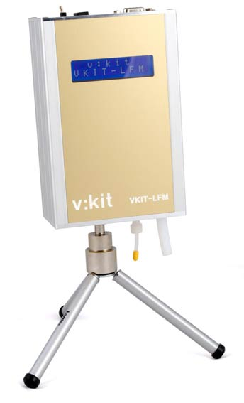 Photo of v-kit HPLC flowmeter